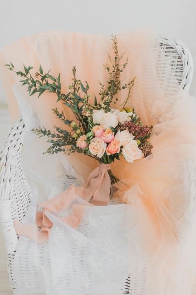 Букет невесты свободный формы